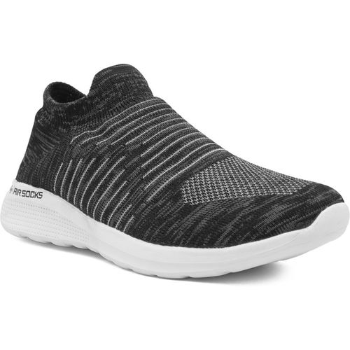 Asian Airsocks-01 Men's Flyknit Socks Sneakers,Ultra-lightweight, Breathable, Walking, Running, Casual Athleisure Knitted Sock Shoes (Without Laces) Running