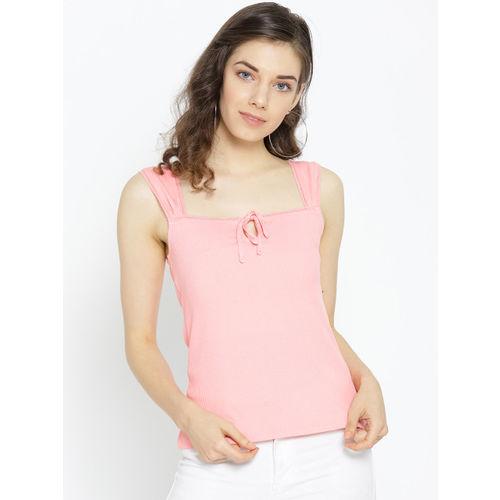 DOROTHY PERKINS Women Pink Solid Top