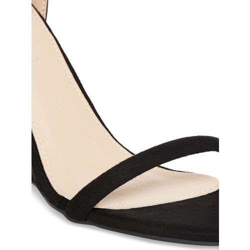 GIORDANO Women Black Solid Heels