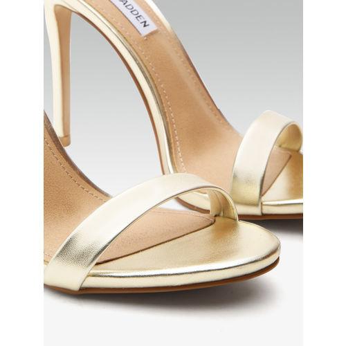 Steve Madden Women Gold-Toned Heels