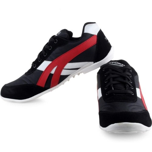 Men Urban Running OnlineLooksgud Tape Black For Shoes in Buy n80wkXOP