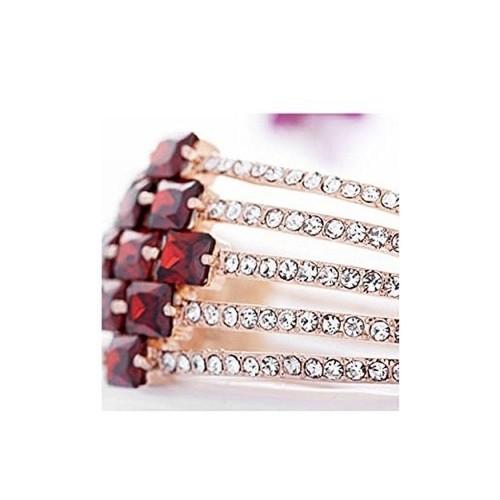 YELLOW CHIMES Golden Swarovski Diamond Bracelet