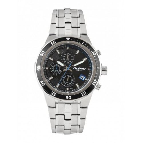 d21270083a Buy Titan Octane Men Black Dial Chronograph Watch 9466KM09J online ...