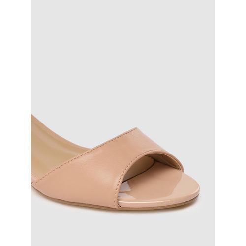 CERIZ Women skin -Coloured Solid Heels