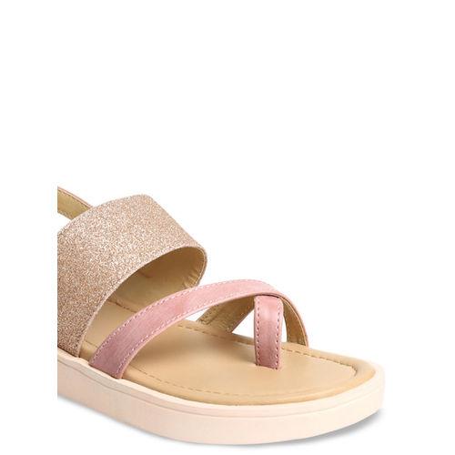 VALIOSAA Women Pink Solid Heels