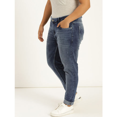 Sztori Women Blue Skinny Fit Mid-Rise Clean Look Stretchable Jeans