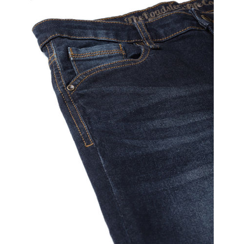 Roadster Women Navy Blue Skinny Fit High-Rise Clean Look Stretchable Jeans