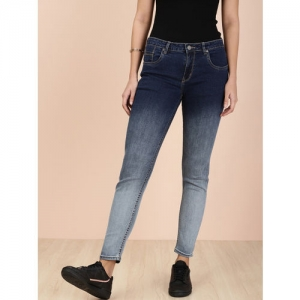 all about you from Deepika Padukone Women Black Skinny Fit Mid-Rise Clean Look Jeans