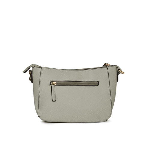 Lavie Grey Textured Sling Bag
