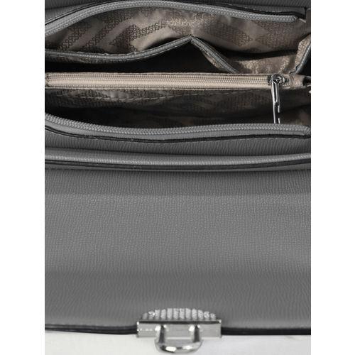 CORSICA Grey Solid Sling Bag
