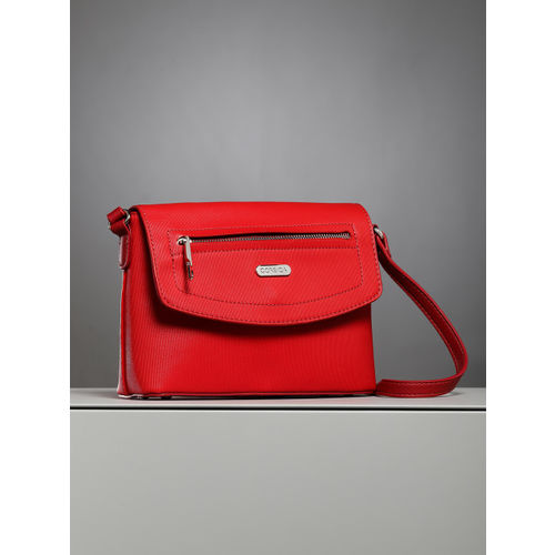 CORSICA Red Solid Sling Bag