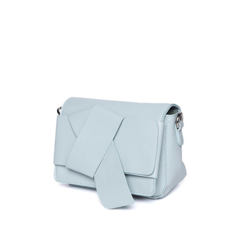 ether Blue Solid Sling Bag