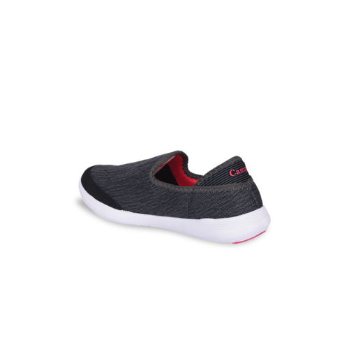 Campus Women Black Mesh Janet Running Shoes