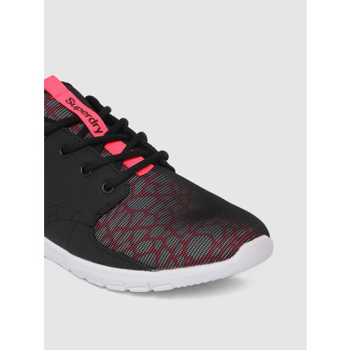Superdry Women Black Scuba Sport Running Shoes