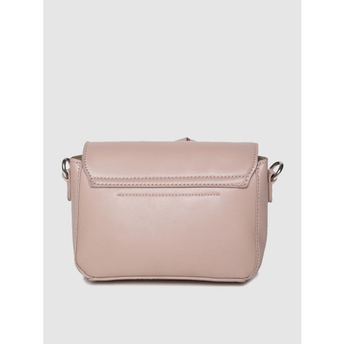 ether Dusty Pink Solid Sling Bag