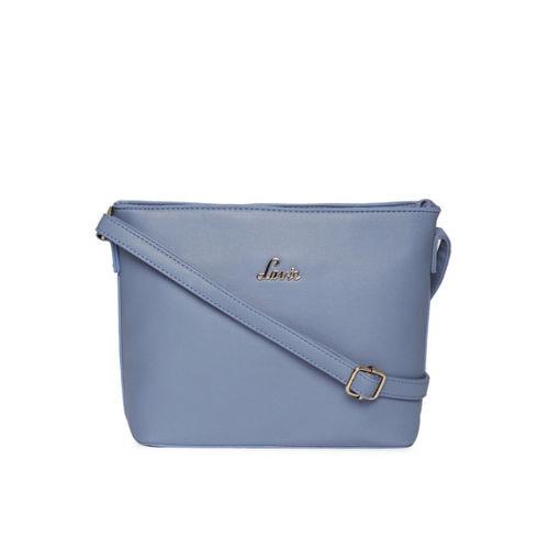 Lavie Blue Solid Sling Bag