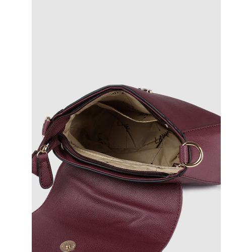 Lavie Purple Solid Sling Bag