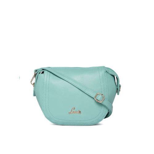 Lavie Green Solid Sling Bag