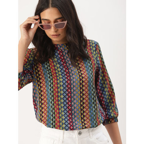 DressBerry Women Multicoloured Printed Top