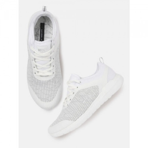 HRX by Hrithik Roshan Women White Mesh Running Shoes