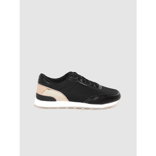 Superdry Women Black Solid Running Shoes