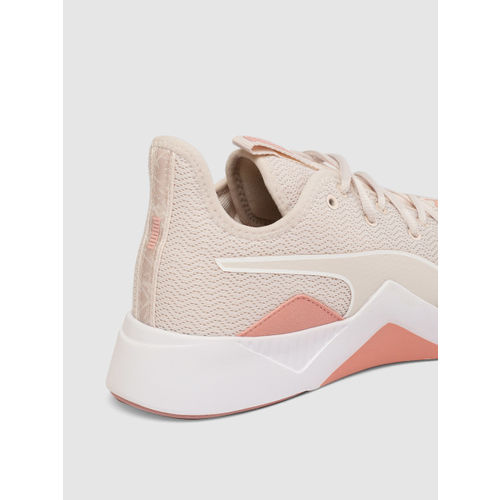 Puma Women Cream-Coloured Incite Fs Shift Training Shoes