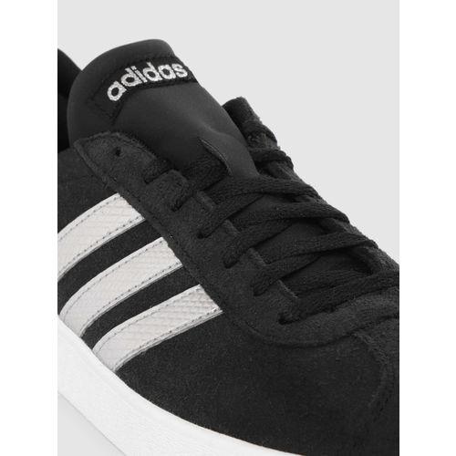 invención O después Comenzar  Buy ADIDAS Women Black VL Court 2.0 Suede Skateboarding Shoes online    Looksgud.in