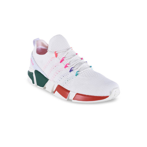 Campus Women White SUNSHINE Mesh Running Shoes