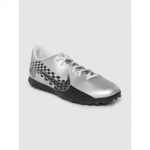 Nike Unisex Silver-Toned & Black Vapor 13 Club Neymar Jr. TF Football Shoes