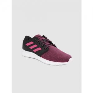ADIDAS Women Pink & Grey Storm Running Shoes