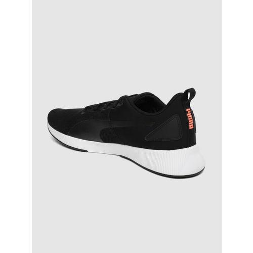 Puma Unisex Black Flyer Runner Running Shoes