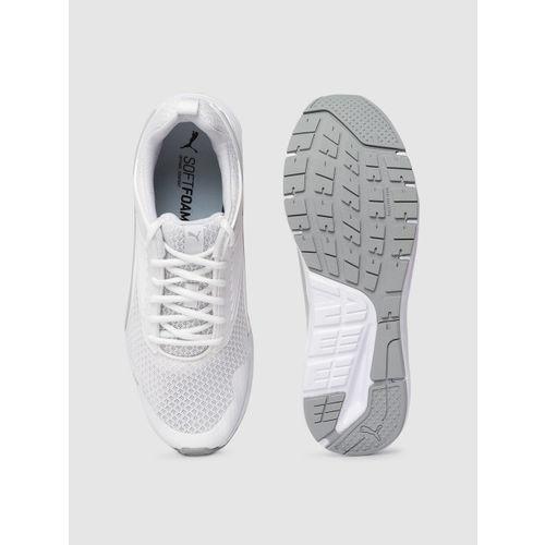 Puma Unisex White Pure Jogger Pro Running Shoes