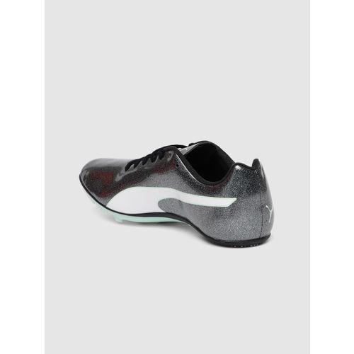 Puma Women Grey Evospeed Sprint 9 Running Shoes