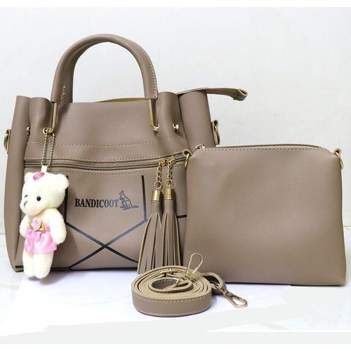 bandicoot White Hand-held Bag