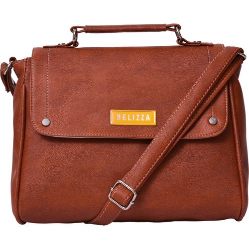 Belizza Tan Sling Bag