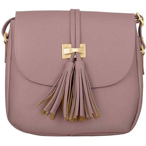 TAP FASHION Pink Sling Bag