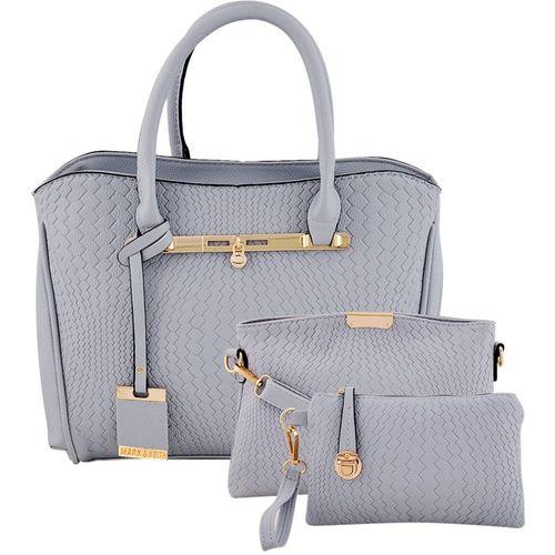 Mark & Keith Women Grey Hand-held Bag