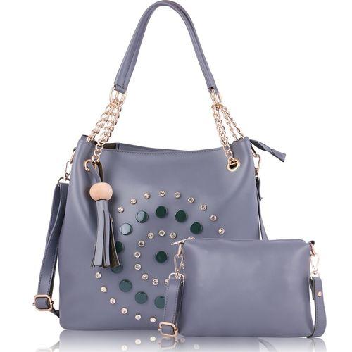 Fiesto fashion Women Grey Shoulder Bag