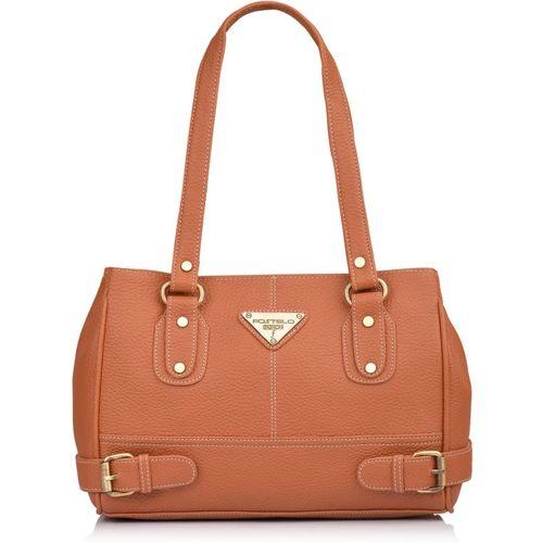 Fostelo Women Tan Shoulder Bag