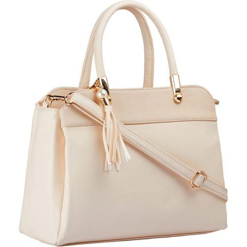Legal Bribe Women White Hand-held Bag