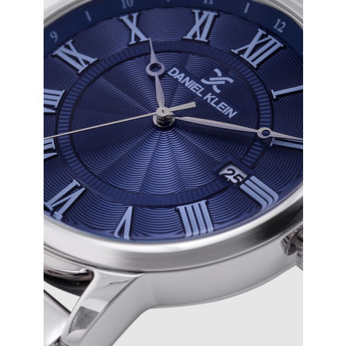 Daniel Klein Premium Men Navy Blue Analogue Watch DK12168-5
