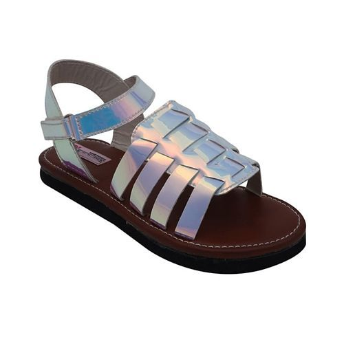 D'Chica Rainbow Sandals - Silver