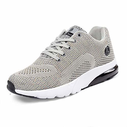 Bacca Bucci Trail Running Shoes Men - 3D Knit Air Cushion Athletic Sports Trainer Walking/Running Sneaker