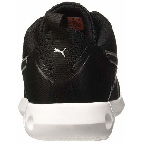 Puma Black Synthetic Cruxston Idp Running Shoes