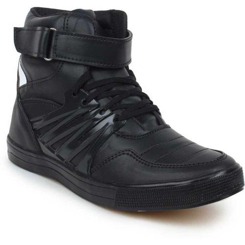 Magic Hunt Aerobic Dancing Shoes Boots For Men(Black)