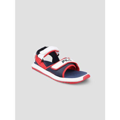 FILA Men Blue & Red DELONZO Tech Sandals