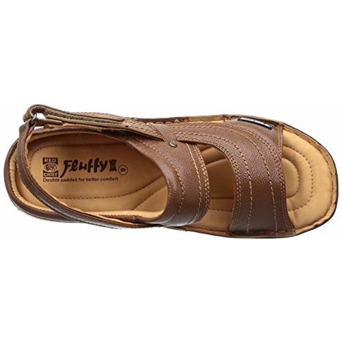 Red Chief Men's Leather Outdoor Sandals