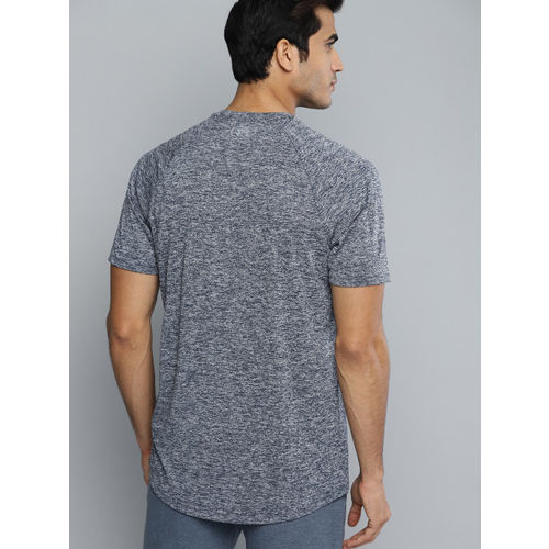 UNDER ARMOUR Men Navy & Grey Tech 2.0 Short Sleeve T-shirt
