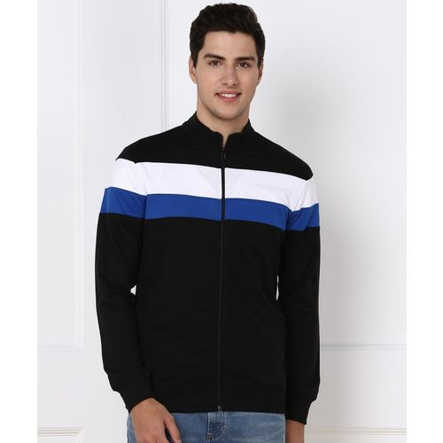 Billion Full Sleeve Striped Men Sweatshirt