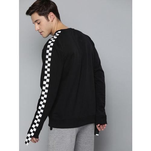 Kook N Keech Batman Men Black Printed Sweatshirt